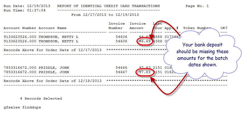 Identical Credit Card Transactions (Cont.) (5/5)